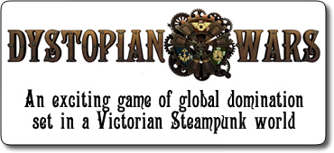 Uchronies, Steampunk and Pulp ( Dystopian Wars, in her Majesty's name, Don't..)